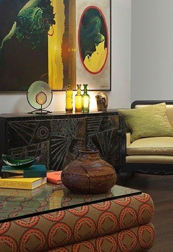 Фотография: Гостиная в стиле Прованс и Кантри, Современный, Восточный, Декор интерьера, Декор дома, Цвет в интерьере – фото на INMYROOM