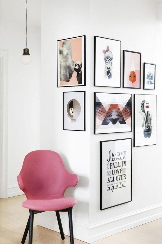 Фотография: Декор в стиле Лофт, Современный, Эклектика, Декор интерьера, Мебель и свет, Советы, Белый, как оформить пустой угол, пустой угол в квартире – фото на INMYROOM