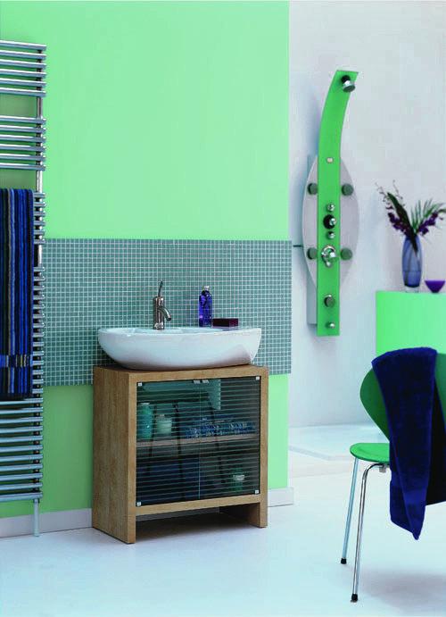 Фотография: Ванная в стиле Современный, Декор интерьера, Дизайн интерьера, Цвет в интерьере, Dulux – фото на INMYROOM