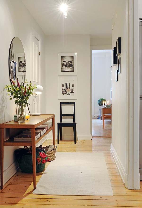Фотография: Прихожая в стиле Скандинавский, Декор интерьера, Мебель и свет – фото на INMYROOM