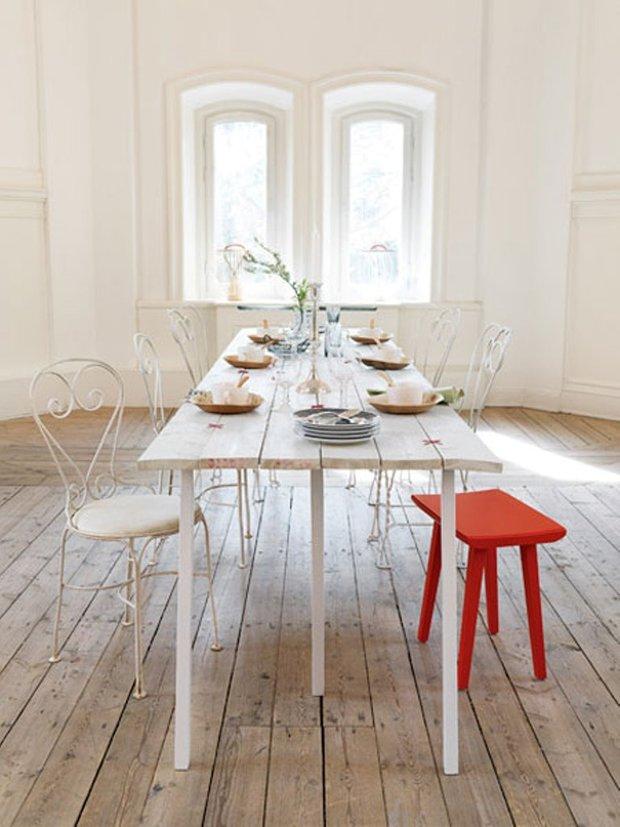 Фотография: Кухня и столовая в стиле Прованс и Кантри, Скандинавский, Декор интерьера, Декор дома, Пол – фото на INMYROOM