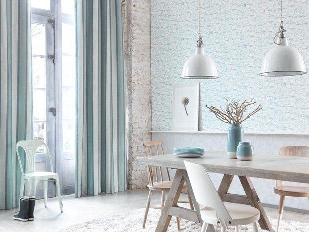 Фотография: Кухня и столовая в стиле Скандинавский, Ремонт на практике, жидкие обои – фото на INMYROOM