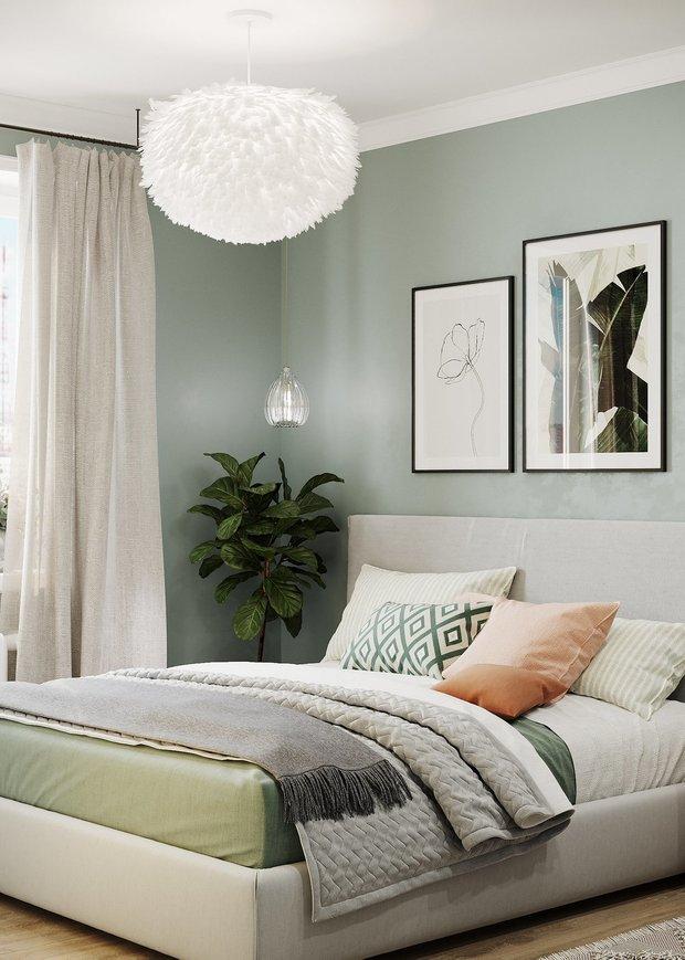 Фотография: Спальня в стиле Скандинавский, Декор интерьера, OBI, ОБИ, тренды 2020, новый скандинавский стиль – фото на INMYROOM
