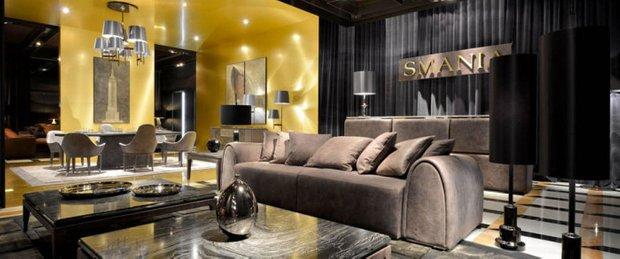 Фотография: Гостиная в стиле Классический, Современный, Эклектика, Индустрия, События, Галерея Neuhaus – фото на INMYROOM