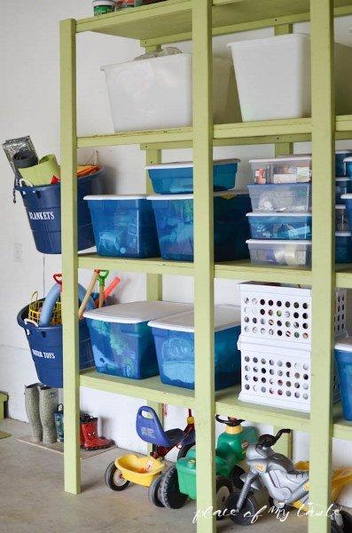 Фотография:  в стиле , Прочее, Дом и дача, как обустроить гараж, хранение в гараже, как обустроить дачный сарай, идеи для гаража – фото на INMYROOM
