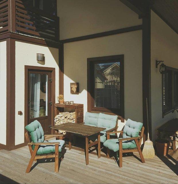 Фотография:  в стиле , Дом, Ремонт на практике, Более 90 метров, Индивидуальный проект – фото на INMYROOM