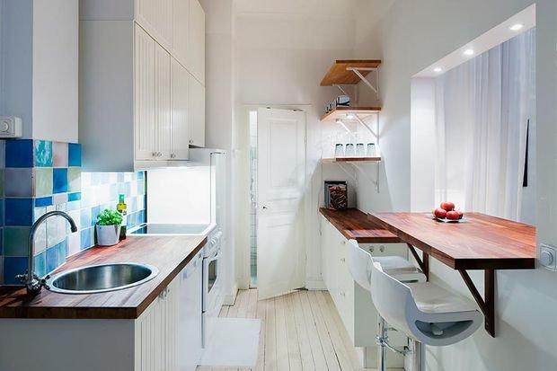 Фотография: Кухня и столовая в стиле Лофт, Гостиная, Декор интерьера, Квартира, Студия, Дом, барная стойка на кухне, кухня-гостиная с барной стойкой – фото на INMYROOM