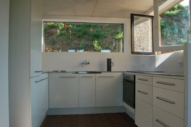 Фотография: Кухня и столовая в стиле Современный, Дом, Дома и квартиры, Городские места, Переделка – фото на INMYROOM