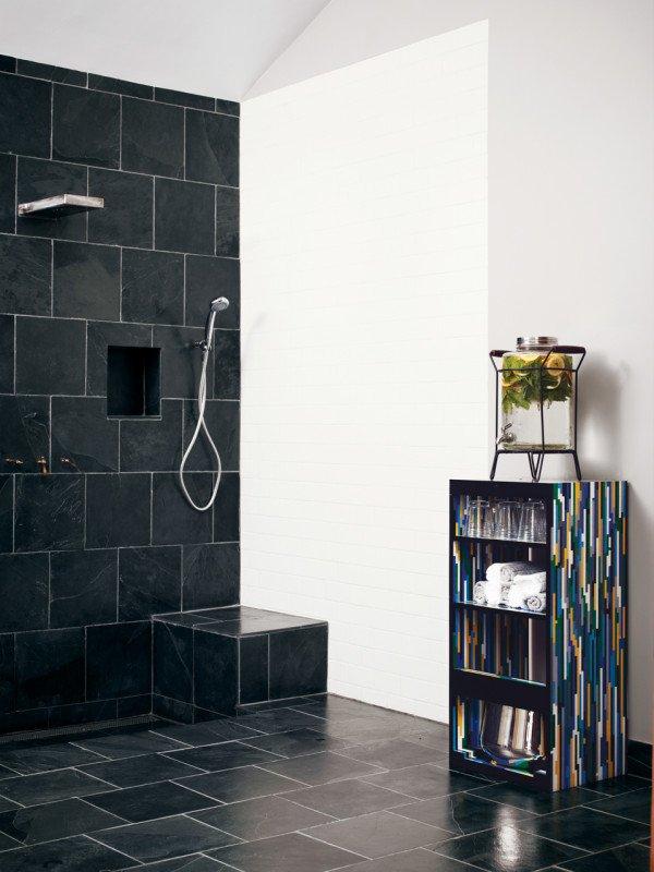 Фотография: Ванная в стиле Современный, Малогабаритная квартира, Квартира, Дома и квартиры, Советы, Мебель-трансформер – фото на INMYROOM