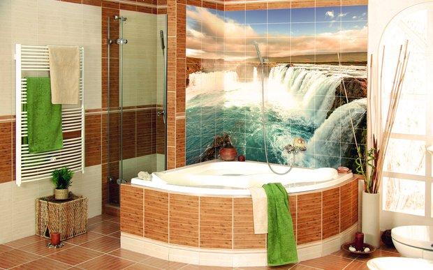 Фотография: Ванная в стиле Современный, Декор интерьера, Декор дома, Плитка, Ремонт на практике – фото на INMYROOM