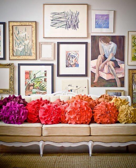 Фотография: Декор в стиле Прованс и Кантри, Декор интерьера, Текстиль, Подушки – фото на INMYROOM