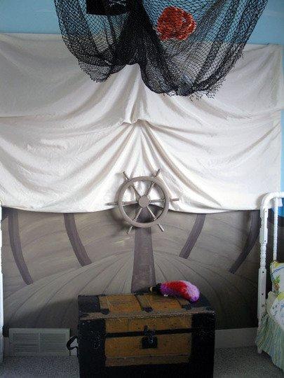 Фотография: Спальня в стиле Прованс и Кантри, Детская, Декор интерьера, Интерьер комнат, Мебель и свет – фото на InMyRoom.ru