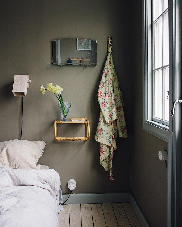 Фотография: Спальня в стиле Прованс и Кантри, Декор интерьера, Дом, Швеция, Гетеборг, Уильям Моррис – фото на INMYROOM