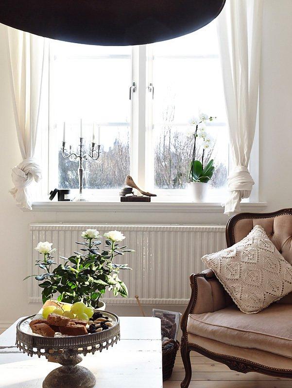Фотография: Гостиная в стиле Прованс и Кантри, Декор интерьера, Квартира, Белый – фото на INMYROOM