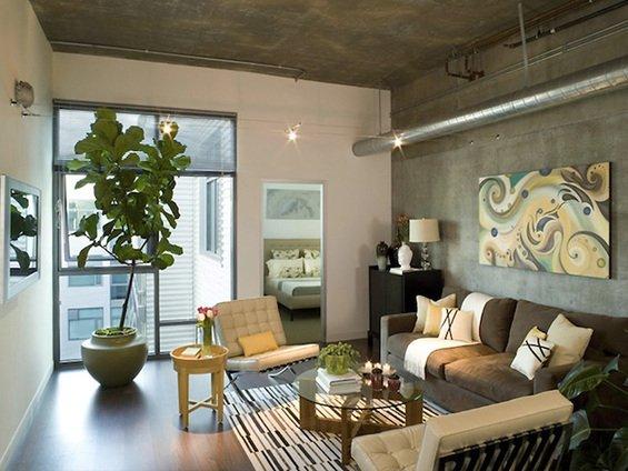 Фотография: Гостиная в стиле Лофт, Декор интерьера, Мебель и свет, Цвет в интерьере, Стиль жизни, Советы – фото на INMYROOM
