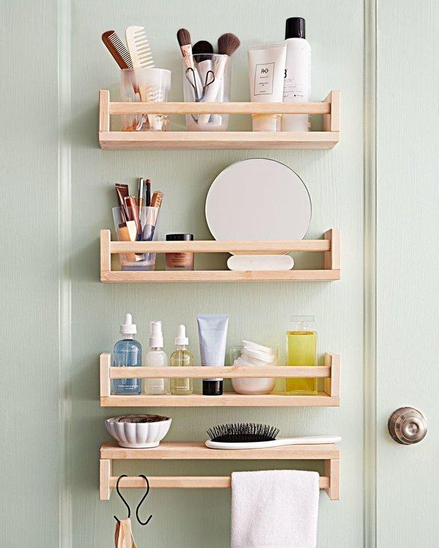 Фотография:  в стиле , Ванная, Советы, хранение, хранение в ванной комнате – фото на INMYROOM