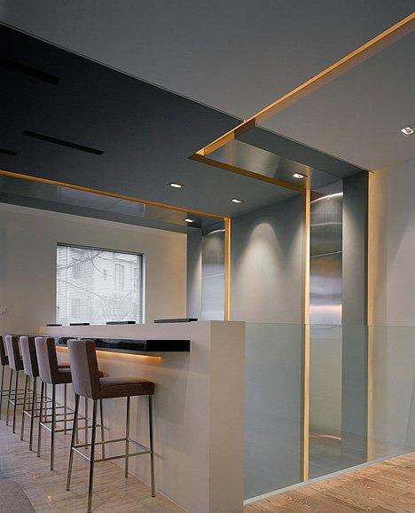 Фотография: Кухня и столовая в стиле Современный, Квартира, Дома и квартиры, Международная Школа Дизайна – фото на INMYROOM