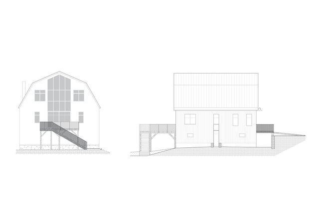 Фотография: Спальня в стиле Современный, Лофт, Канада, Белый, Бежевый, Серый, Эко, Дом и дача – фото на INMYROOM