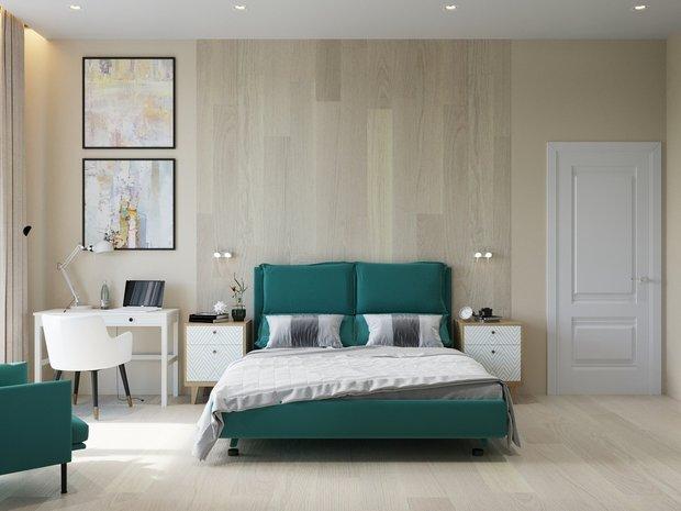 Фотография: Спальня в стиле Современный, Советы, электрика в квартире, ПИК-ремонт, Наталия Горелик – фото на INMYROOM