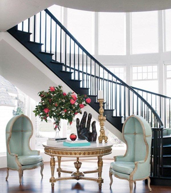 Фотография: Гостиная в стиле Классический, Современный, Эклектика, Дом, Дома и квартиры, Интерьеры звезд – фото на INMYROOM