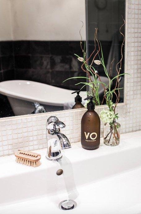 Фотография: Ванная в стиле Скандинавский, Декор интерьера, Квартира, Швеция, 3 комнаты – фото на INMYROOM