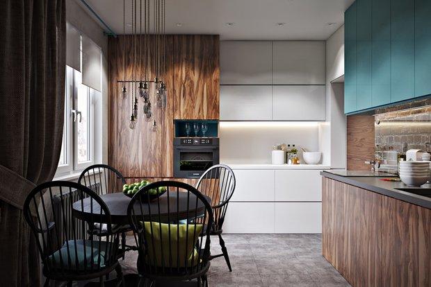 Фотография: Кухня и столовая в стиле Современный, Эко, Декор интерьера, Советы, актуальный интерьер – фото на INMYROOM