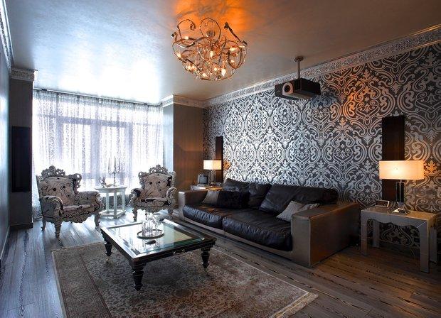 Фотография: Гостиная в стиле , Декор интерьера, Декор дома, Декоративная штукатурка – фото на INMYROOM