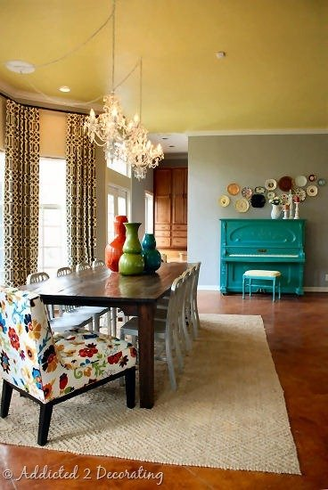 Фотография:  в стиле , Кухня и столовая, Декор интерьера, Интерьер комнат, Переделка, Большие окна, Обеденная зона – фото на InMyRoom.ru