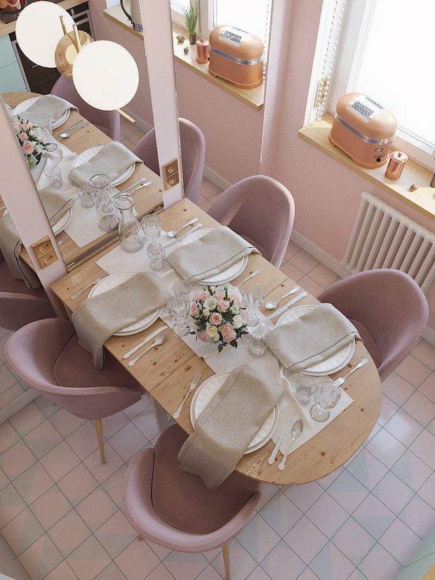 Фотография: Кухня и столовая в стиле Современный, Декор интерьера, Карта покупок, Надежда Каппер, Хрущевка – фото на INMYROOM