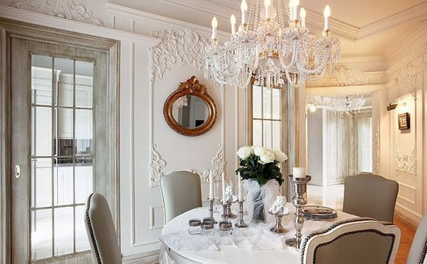 Фотография: Кухня и столовая в стиле Классический, Декор интерьера, Декор, Советы, Александр Гликман, дворцовый стиль в интерьере, как оформить интерьер в дворцовом стиле – фото на INMYROOM