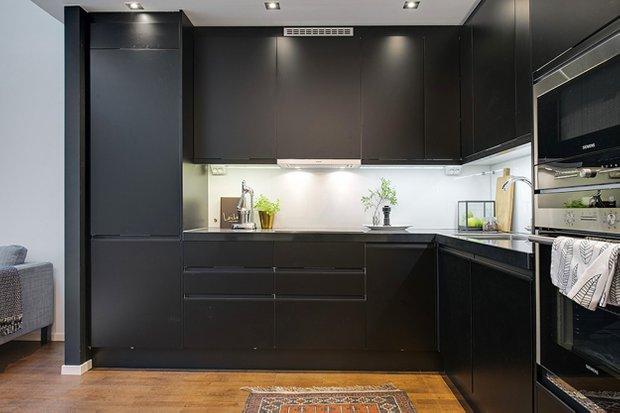 Фотография: Кухня и столовая в стиле Современный, Скандинавский, Квартира, Дома и квартиры, Стокгольм – фото на INMYROOM