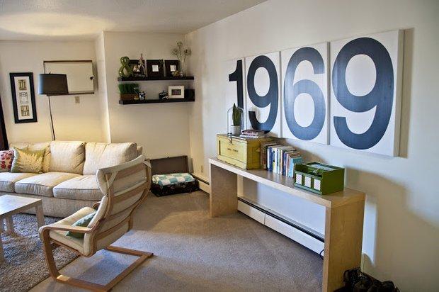 Фотография: Гостиная в стиле Скандинавский, Декор интерьера, DIY, Декор дома – фото на InMyRoom.ru
