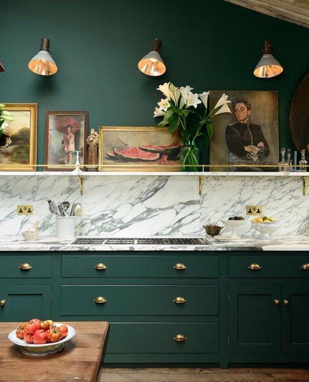 Фотография: Кухня и столовая в стиле , Вдохновение – фото на INMYROOM