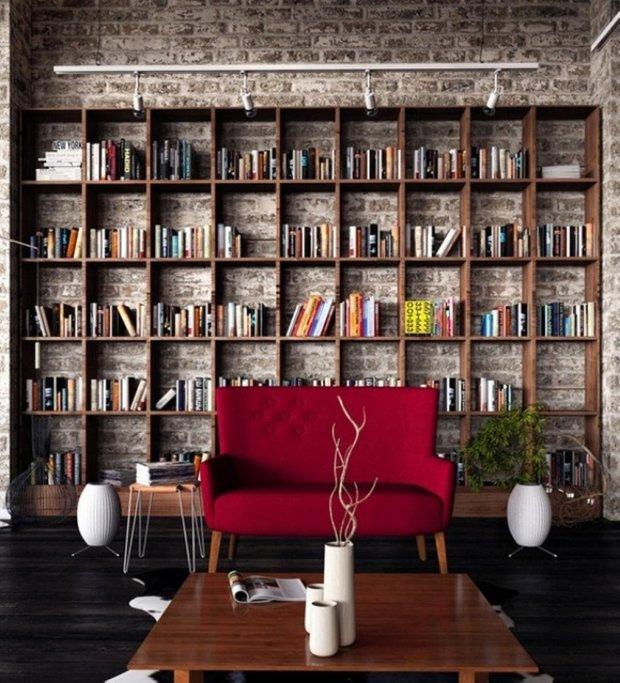 Фотография:  в стиле , Советы, идеи для малогабариток, как разместить книги в интерьере, хранение книг в небольшой квартире – фото на INMYROOM