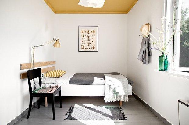 Фотография: Спальня в стиле Скандинавский, Советы, Дом и дача, скандинавский интерьер – фото на INMYROOM