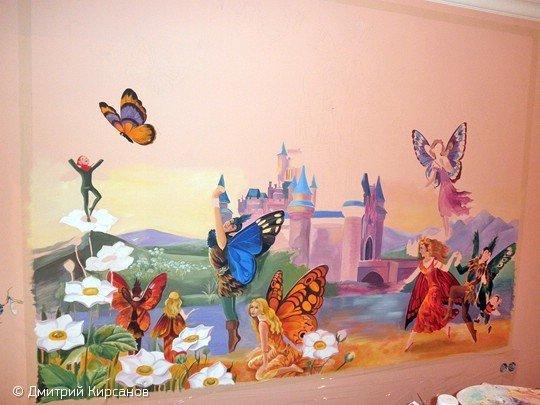 Фотография: Детская в стиле Современный, Декор интерьера, DIY, Роспись – фото на INMYROOM