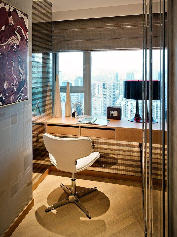 Фотография: Офис в стиле Современный, Малогабаритная квартира, Квартира, Дома и квартиры, Квартиры – фото на INMYROOM
