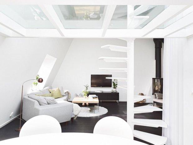 Фотография: Гостиная в стиле Скандинавский, Современный, Лофт, Декор интерьера, Квартира, Дома и квартиры – фото на INMYROOM