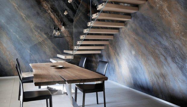 Фотография: Спальня в стиле Классический, Декоративная штукатурка, Гид, Loggia, декоративная отделка стен – фото на INMYROOM