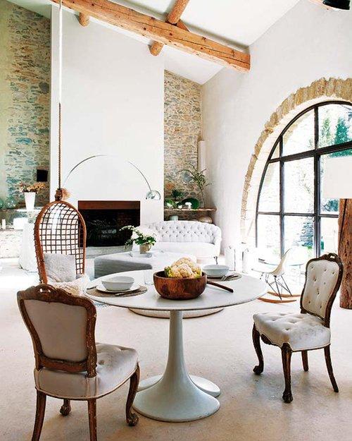 Фотография: Кухня и столовая в стиле Эклектика, Декор интерьера, Дом, Франция, Дома и квартиры – фото на INMYROOM