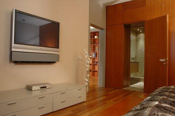 Фотография: Спальня в стиле Современный, Эко, Квартира, Дома и квартиры – фото на INMYROOM