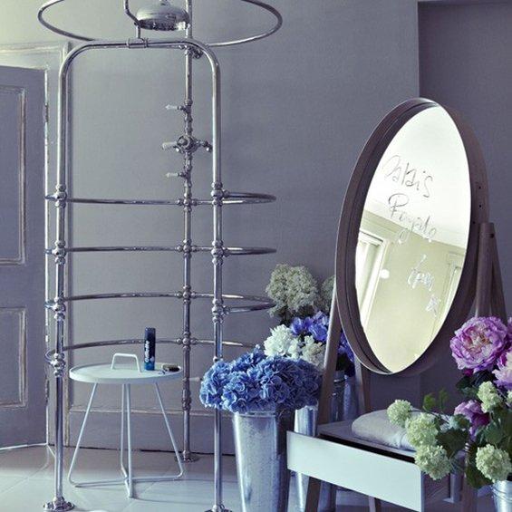 Фотография: Ванная в стиле Эклектика, Декор интерьера, Интерьер комнат – фото на INMYROOM
