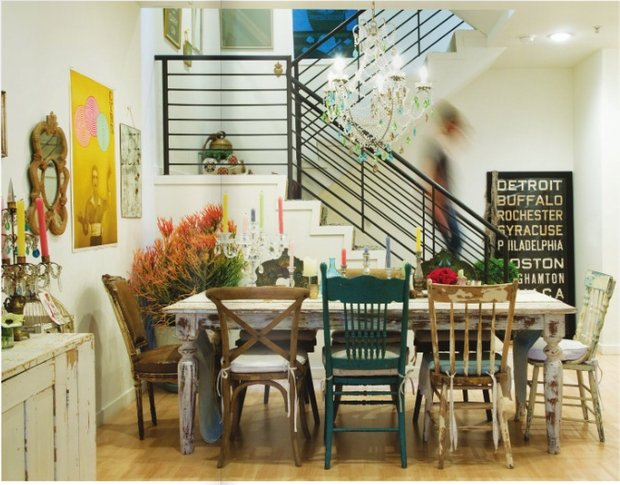 Фотография: Кухня и столовая в стиле Лофт, Эклектика,  – фото на INMYROOM