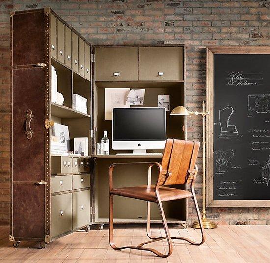 Фотография: Офис в стиле Лофт, Современный, Кабинет, Стиль жизни, Советы – фото на INMYROOM