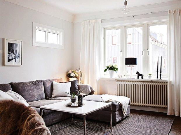 Фотография: Гостиная в стиле , Декор интерьера, Дизайн интерьера, Цвет в интерьере, Советы, Белый – фото на INMYROOM