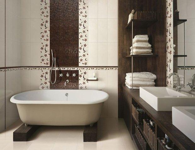 Фотография: Ванная в стиле Восточный, Эклектика, Интерьер комнат, Декоративная штукатурка – фото на INMYROOM