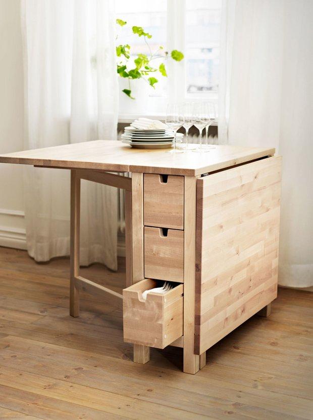 Фотография: Планировки в стиле , Кухня и столовая, Перепланировка – фото на INMYROOM