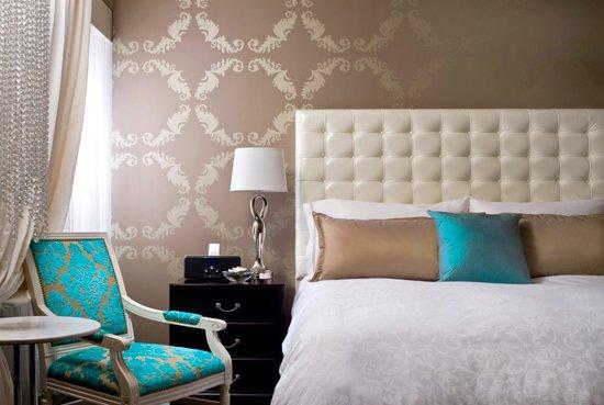 Фотография: Спальня в стиле Классический, Современный, Декор интерьера, Дизайн интерьера, Цвет в интерьере – фото на INMYROOM