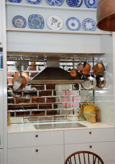 Фотография: Прочее в стиле Скандинавский, Кухня и столовая, Декор интерьера, Интерьер комнат, Плитка – фото на INMYROOM