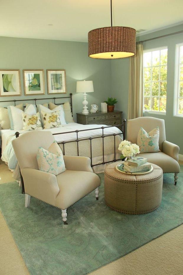 Фотография: Спальня в стиле Прованс и Кантри, Декор интерьера, Квартира, Дом, Декор, Зеленый – фото на INMYROOM